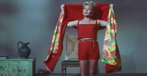 Lana Turner costume screen test for Love Has Many Faces