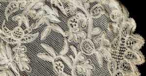 heirloom handmade lace collar