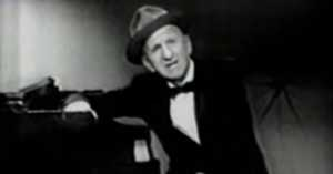 """Jimmy Durante performing """"Young at Heart"""""""