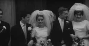 so-called beatnik wedding, 1960