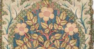 William Morris cushion cover