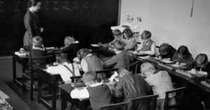 early 20th century classroom