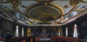 Lynnewood Hall interior today