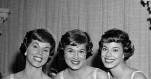 The McGuire Sisters in 1958