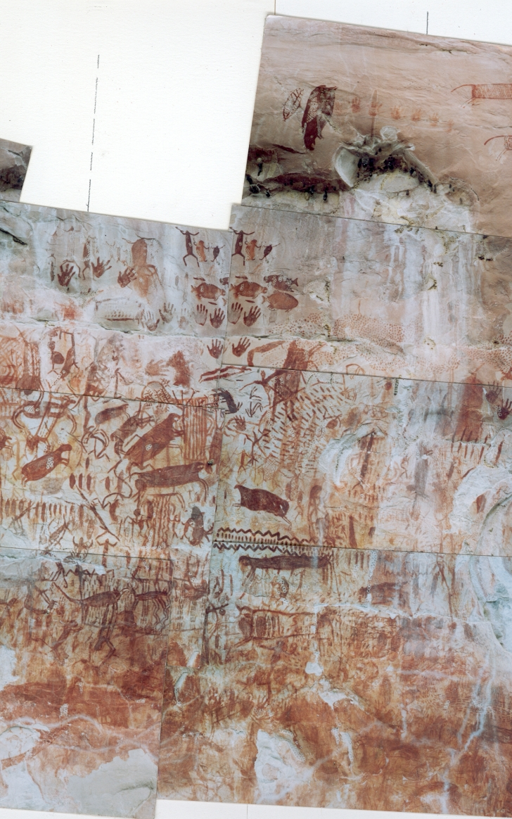 Chiribiquete ochre paintings Colombia
