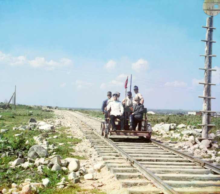 Murmansk railway (1915)