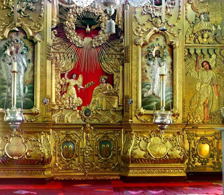 Iconostasis of the Church of Saint Nicholas the Wonder Worker