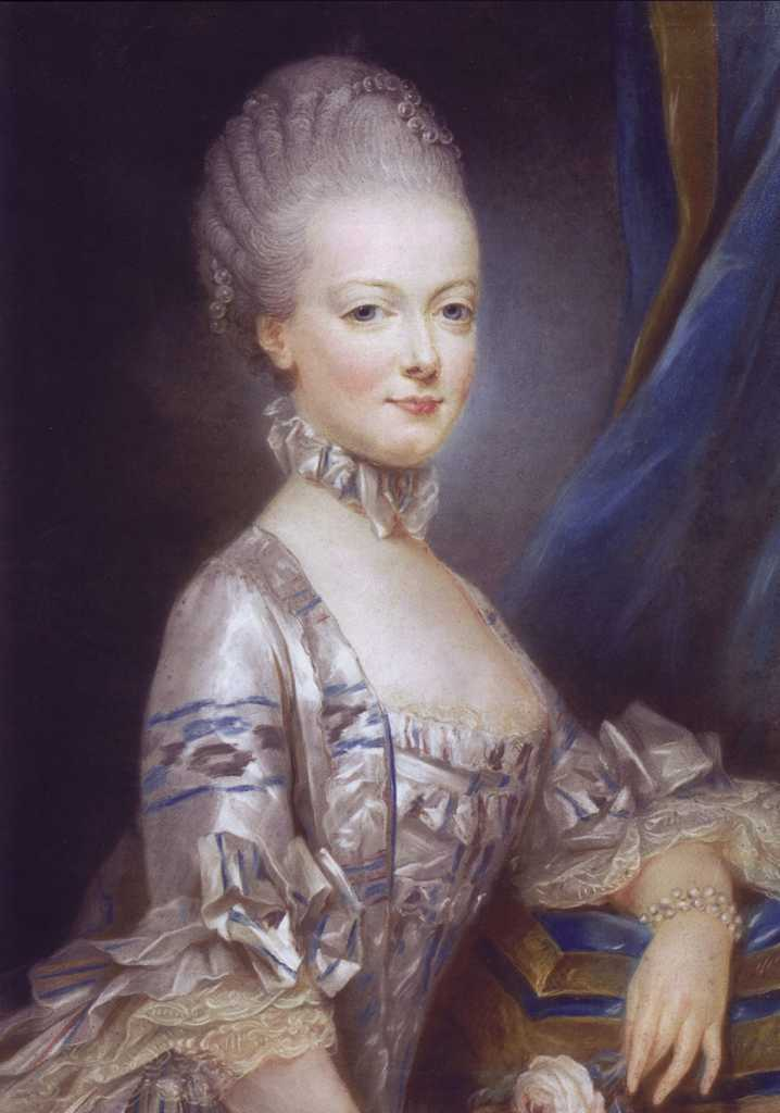 painting of young Marie Antoinette