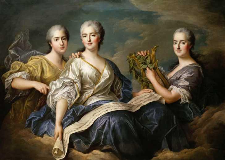the three Mesdames de France
