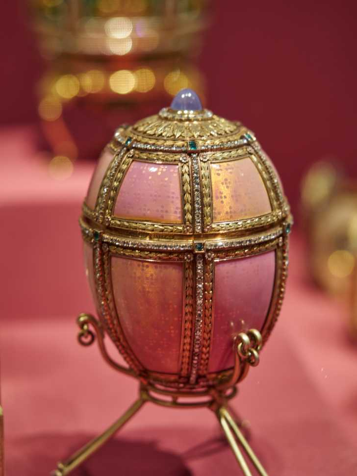 Feberge egg in the collection of the Met Museum