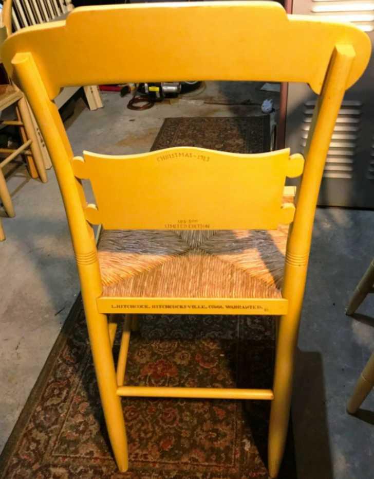 1983 Hitchcock chair