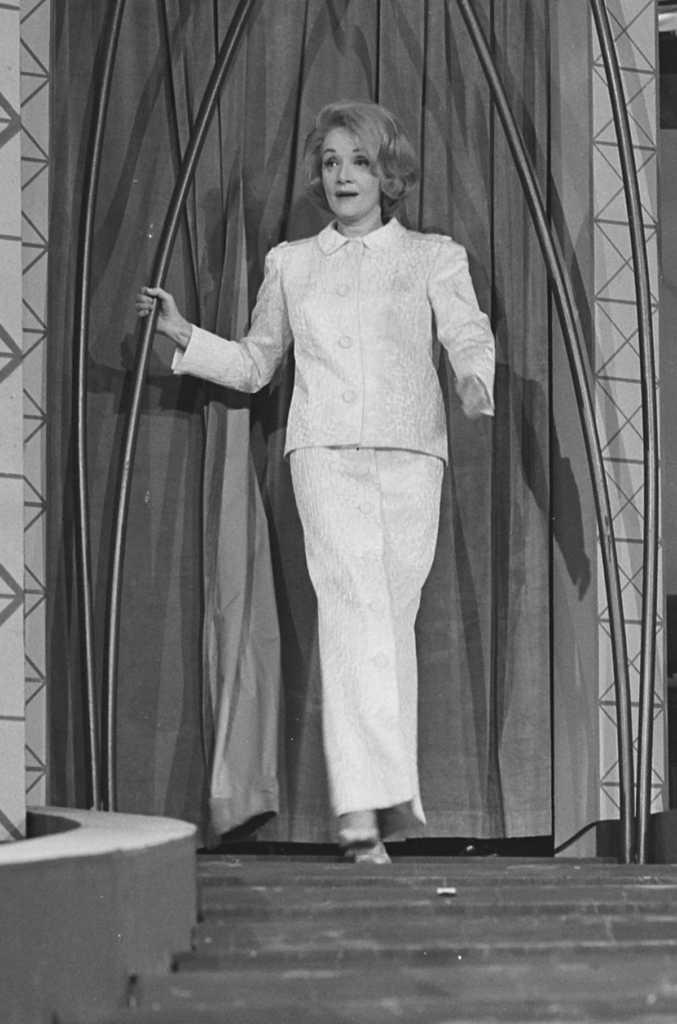Marlene Dietrich in 1963