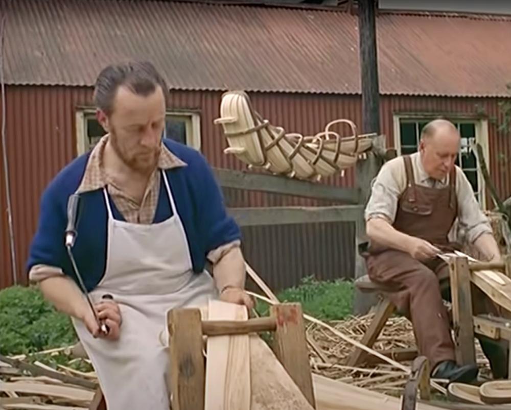 how trug baskets are made
