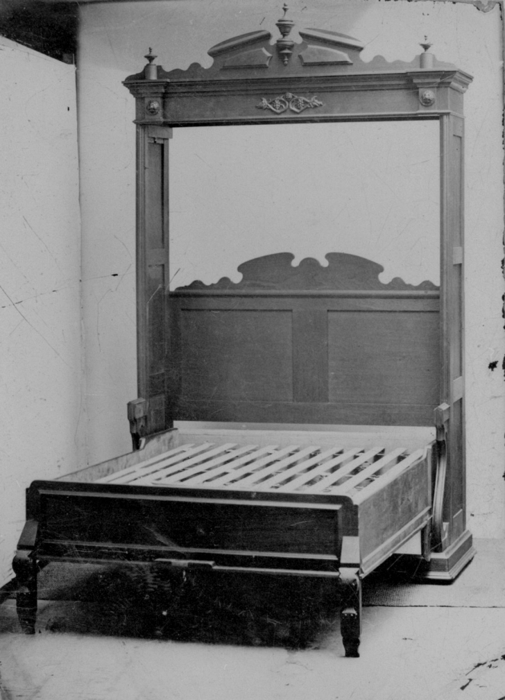 1870 wall bed