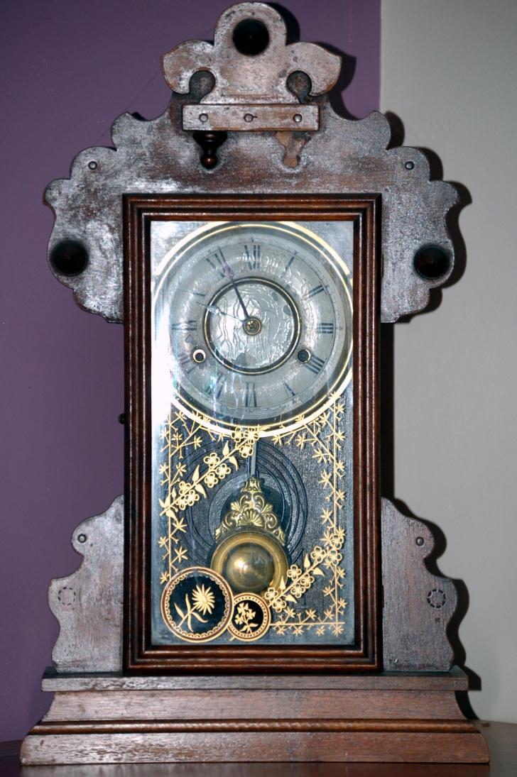antique Danish mantle clock