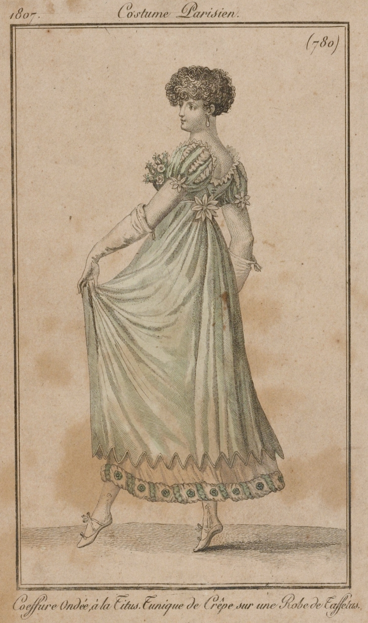 French fashion plate from 1807