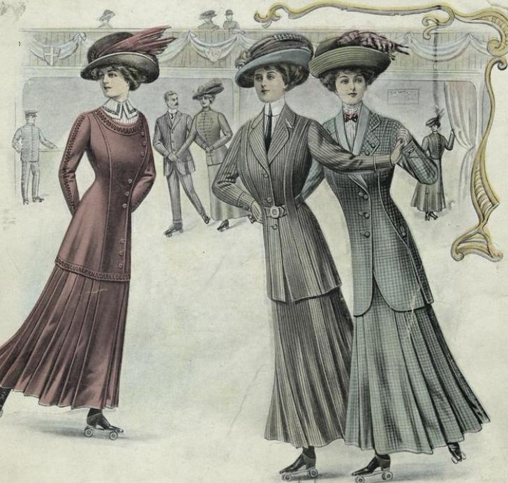 1910 fashion plate