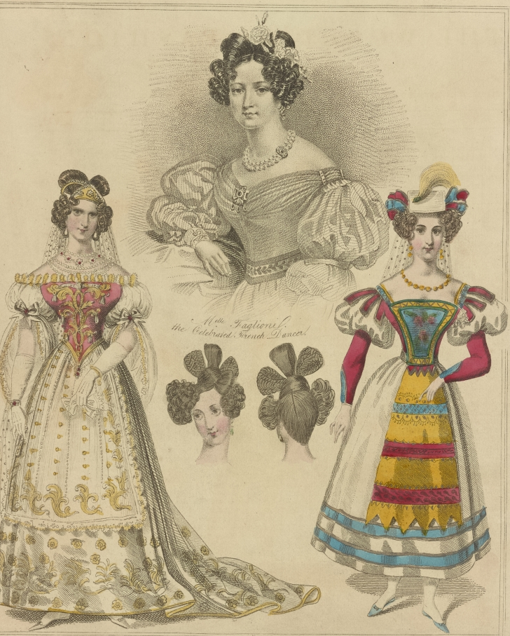 1830s fashion plates
