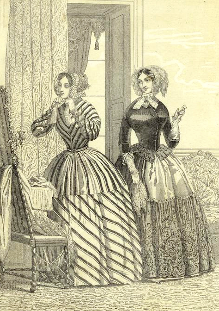 1840s fashion plate
