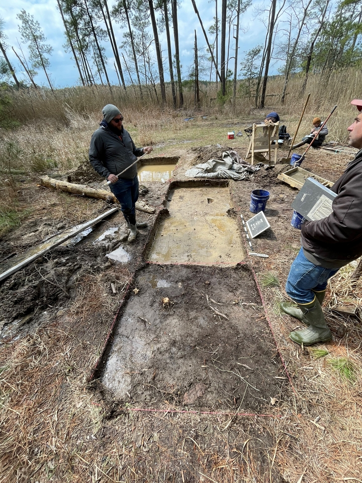 archaeology at the Ben Ross homesite