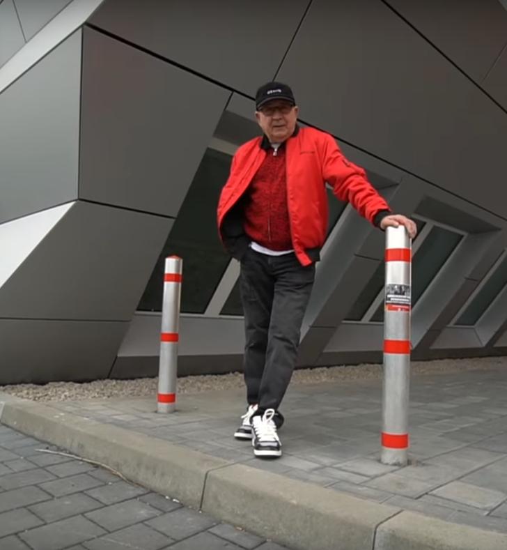 elder fashion icon known as Gramps