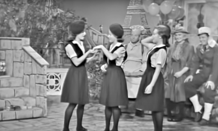 The Lennon Sisters on The Lawrence Welk Show