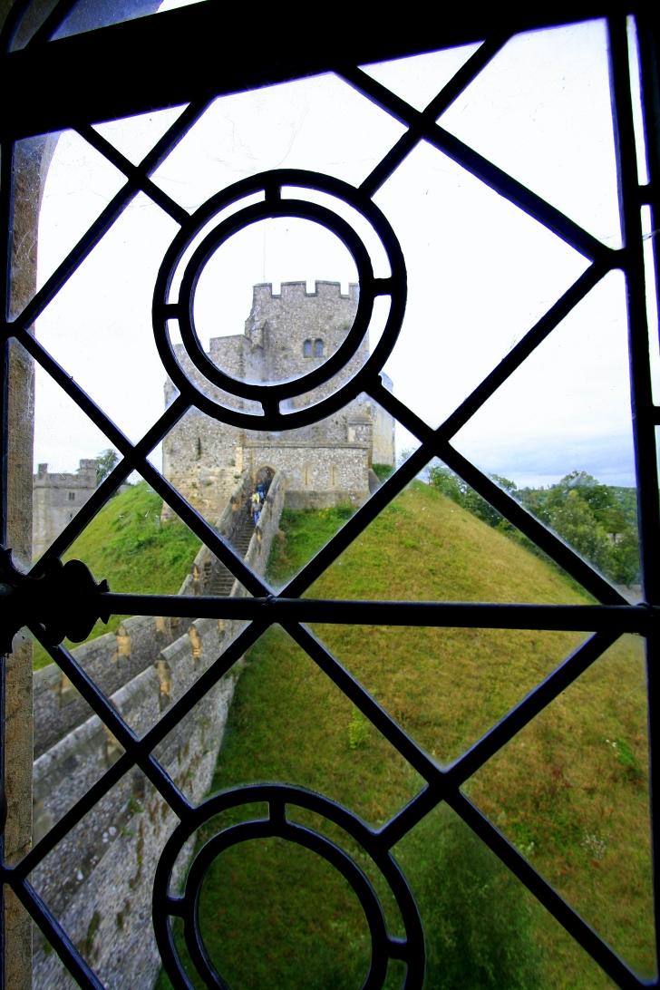 window at Arundel Castle