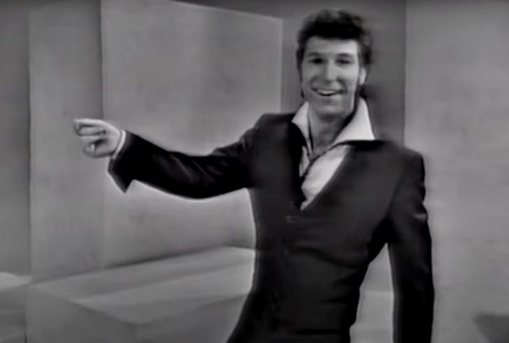 Tom Jones on the Ed Sullivan Show in 1965
