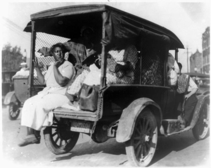 Greenwood Massacre evacuees 1921