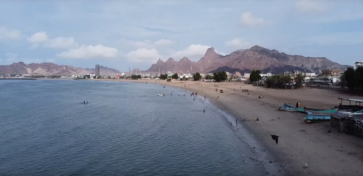 gulf of aden shoreline Yemen