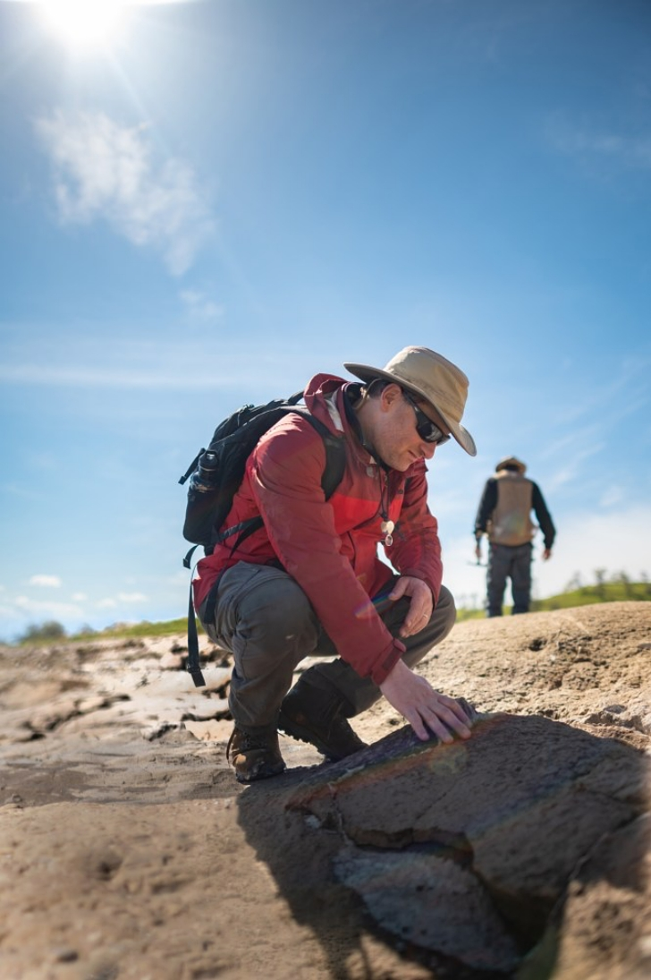 archaeological dig at the Sierra Nevada foothills