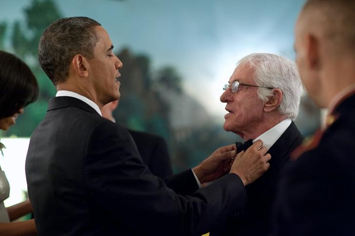 van dyke show with president obama