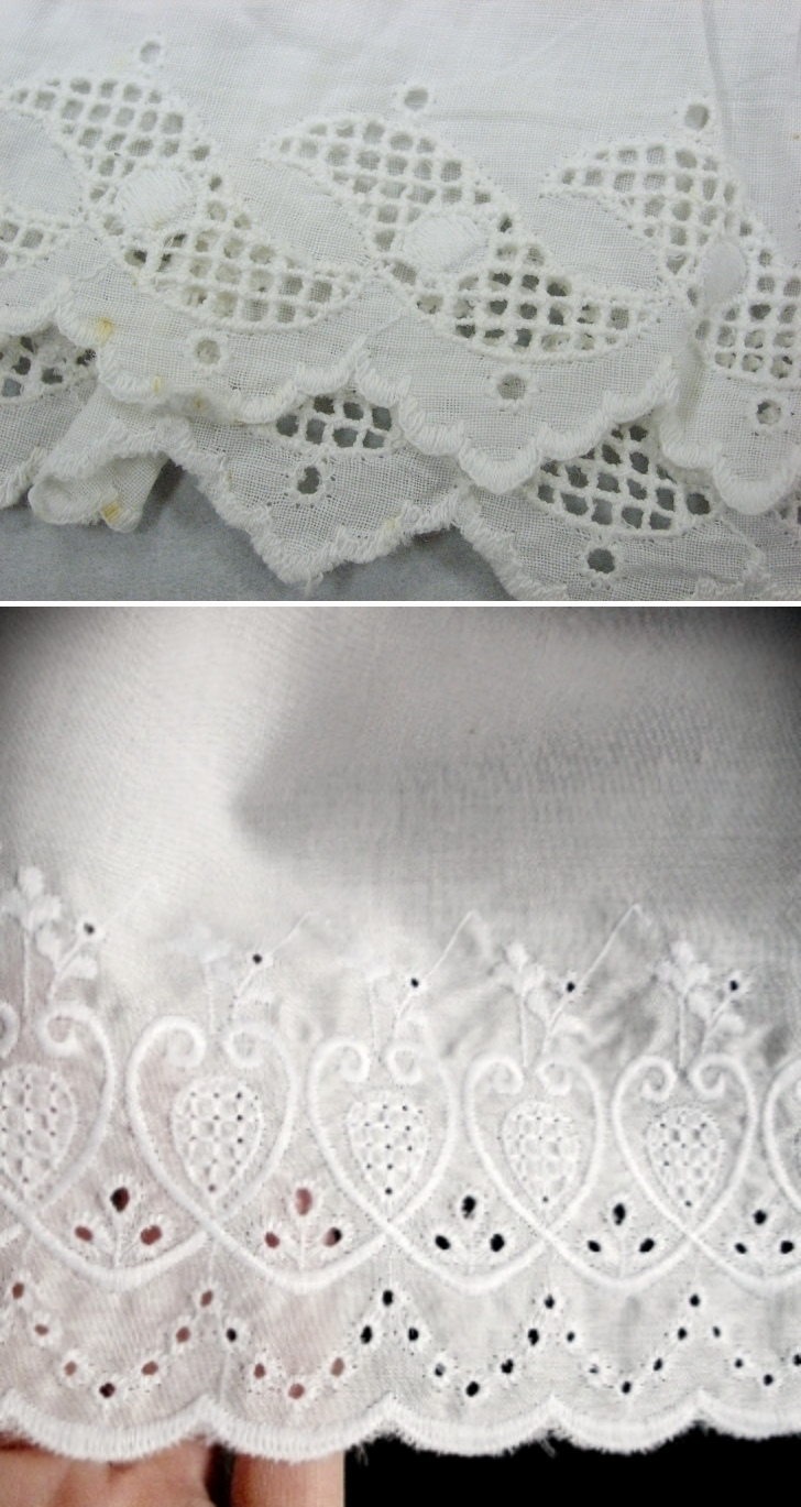 broderie anglaise examples