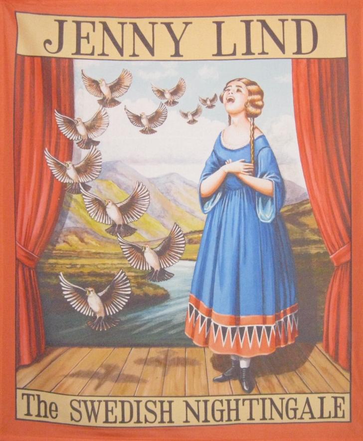 Jenny Lind Barnum poster