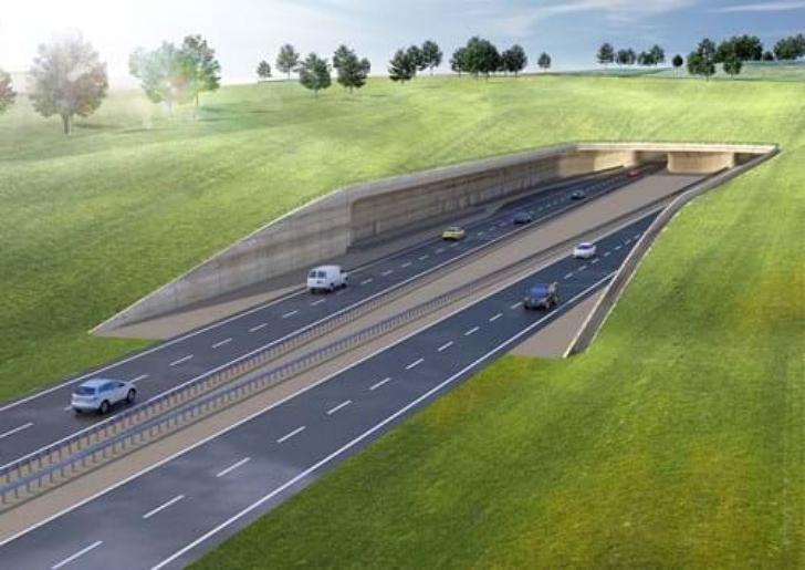 proposed tunnel under Stonehenge