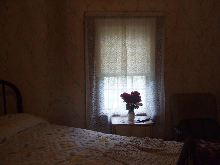Elvis birthplace bedroom window