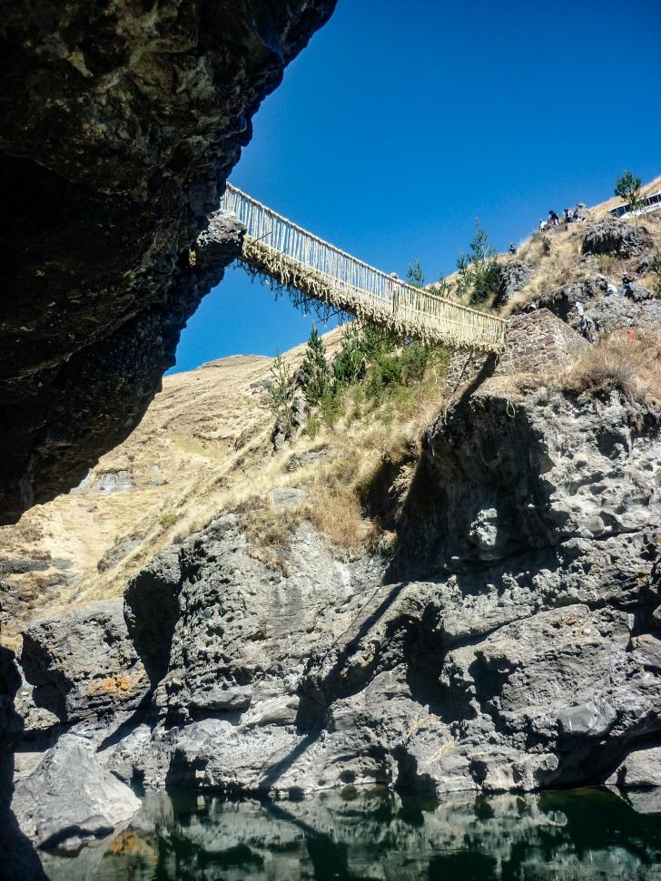 Qeswachaca rope bridge img 2