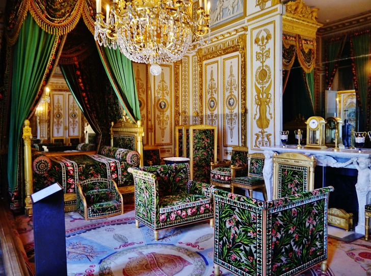 Napoleon's chambers at the Palace of Fontainebleau