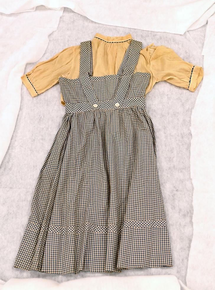 Judy Garland gingham dress
