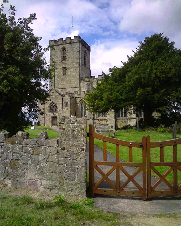 Breedon on the Hill Church and gate