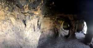 inside the Anchor Church cave