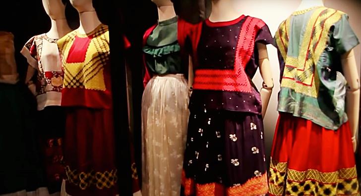 Frida Kahlo clothing exhibit