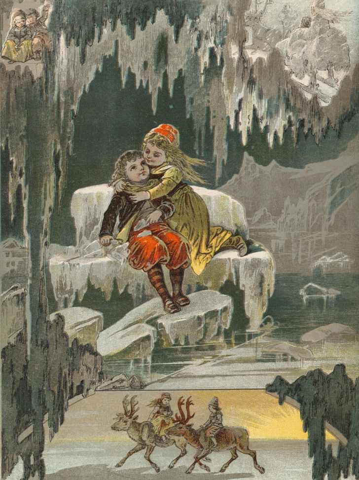 1899 illustration from The Snow Queen