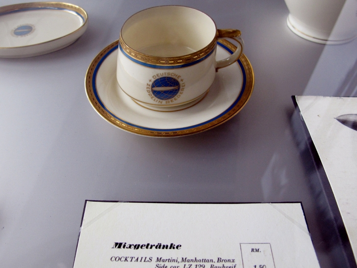 Hindenburg teacup and saucer