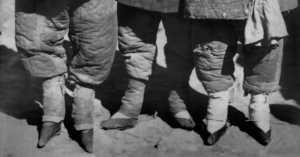 women with bound feet