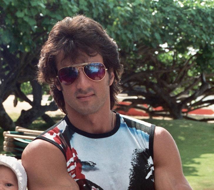 Slyvester Stallone in 1984