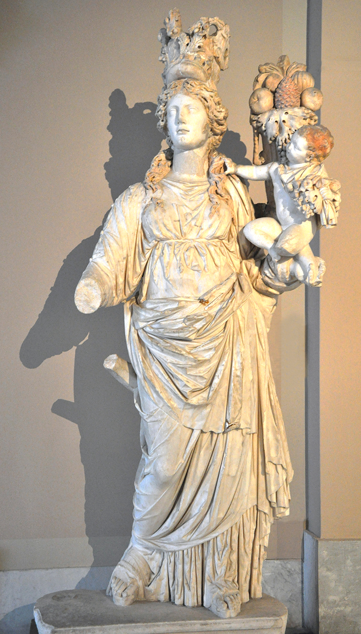 Tyche statue Istanbul Archaeological Museum