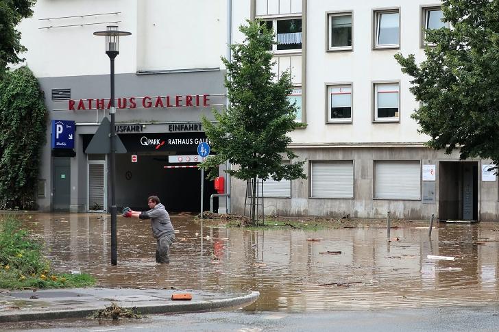 flooding in Hagen Germany summer 2021