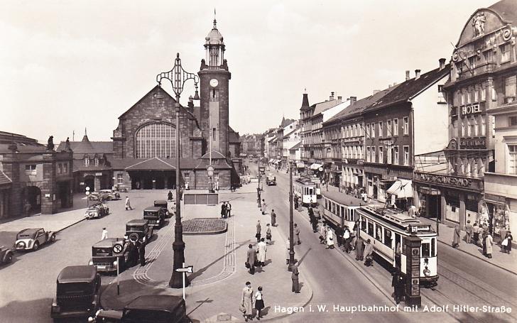 Hagen Germany in 1935