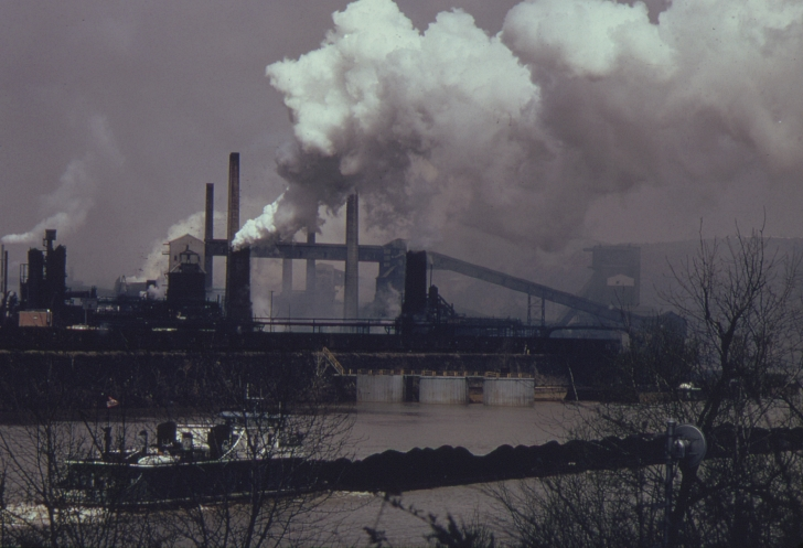 Coke plant in PA in the early 1970s